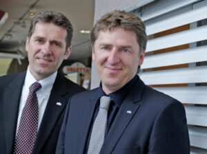 Die beiden VALETTA-Geschäftsführer Christian (links) und Andreas (rechts) Klotzner blicken optimistisch in die Zukunft. Foto: © VALETTA