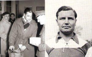 Ernst (links) und Otto Melchior spielten gemeinsam zwischen 1946 und Winter 1953/54 für den FK Austria Wien. Foto-Collage: © oepb