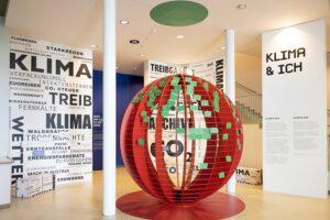 Blick in die Ausstellung KLIMA & ICH im Museum Niederösterreich. Foto: Museum NÖ