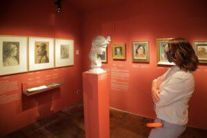 Blick in die Ausstellung im Egon Schiele-Museum in Tulln. Foto: © Daniel Hinterramskogler