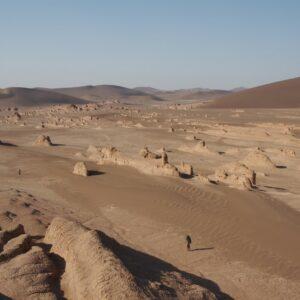 Die Wüste Lut im Iran. Foto: © SMNS, H. Rajaei.