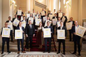 Die SALON Sieger und Auserwählten 2020. Foto: © ÖWM / Anna Stöcher