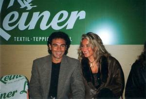 Gattin Isabel fand Gefallen an Europa und an Österreich und war eine große Befürworterin für den Transfer von Hugo Sanchez aus Mexiko nach Linz. Foto: © oepb
