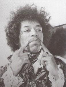 Ein wahrer Gott auf der Gitarre: Jimi Hendrix. Foto: GoodTimes
