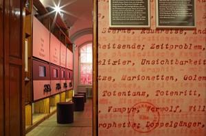 Sonderausstellung im Literaturmuseum. Foto: © Österreichische Nationalbibliothek