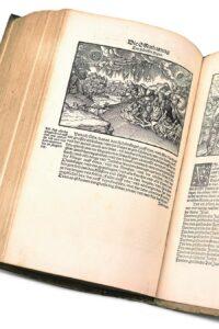 Martin Luther: Biblia / das ist / die gantze Heilige Schrifft Deudsch, 2. Bd., Gedruckt durch Hans Lufft, Wittenberg, 1534. Foto: © Österreichische Nationalbibliothek