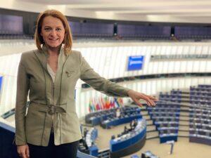 """""""Die Stimme der Realität hat gesiegt!"""", so Simone Schmiedtbauer, Agrarsprecherin der ÖVP im Europaparlament. Foto: © Zwatz"""