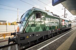 Die ÖBB bringen die neue Bundesheer-Lok auf Schiene. Foto: © ÖBB / Peter Berger