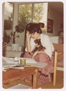 Die österreichische Autorin Ruth Klüger in Kalifornien. Foto: © Österreichische Nationalbibliothek