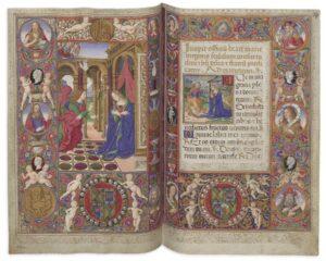 Stundenbuch Cod. 1849 der Österreichischen Nationalbibliothek. Foto: © Österreichische Nationalbibliothek