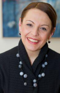 Mag. Renée Gallo-Daniel, die Präsidentin des Österreichischen Verbandes der Impfstoffhersteller hofft, dass schon bald der Anfang vom Ende der Covid 19-Pandemie erreicht sein wird. Foto: Franz Pflügl